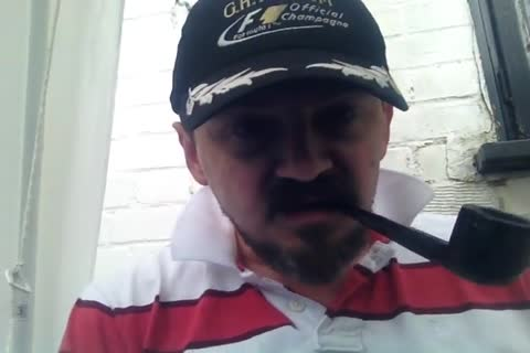 Pipe Smoking And jack off