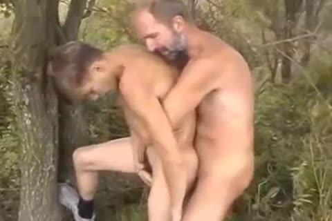 mature stud nailing Younger twink Outdoor