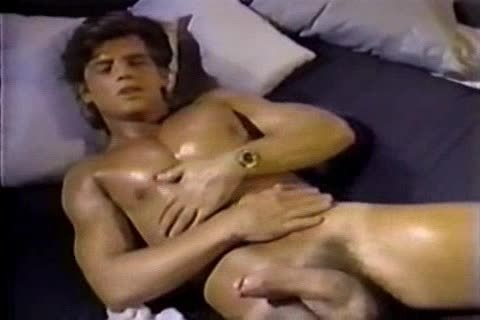 Jerking To A Jeff Stryker movie scene Then sucking Him For Real