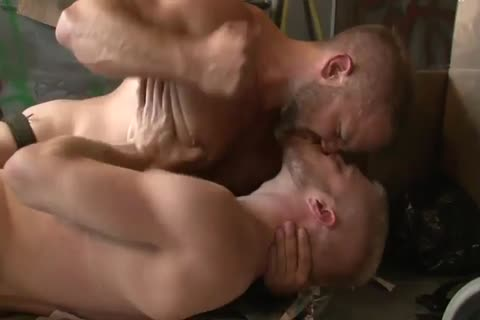 Dirk Caber bonks With A blonde boy In A Wareshouse