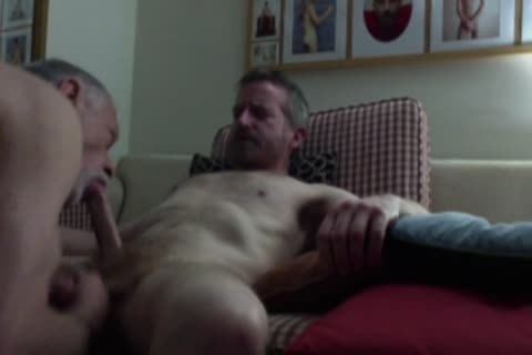filthy old man Stops By For A Cocksucking And Breeding Session.