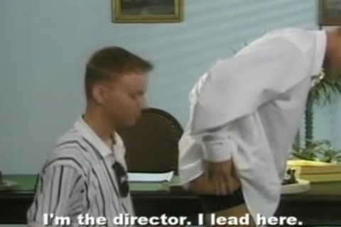 excited Teacher drilling Randy Student