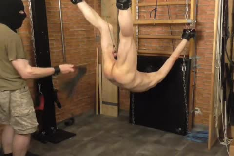 A bdsm-session In A dirty Afternoon. The dom Likes To Play With The Balls Of The slave And spanking The anal. dom: Sadist52 slave: MasoFun