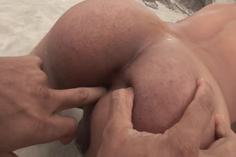 Tanned young boy fucked hardcore By His Boyfriend's weenie On The Beach