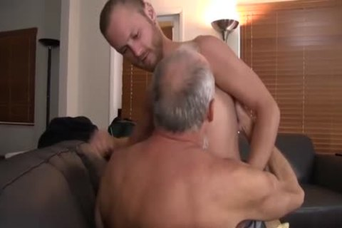 young chap receives poked In The ass By smutty older man