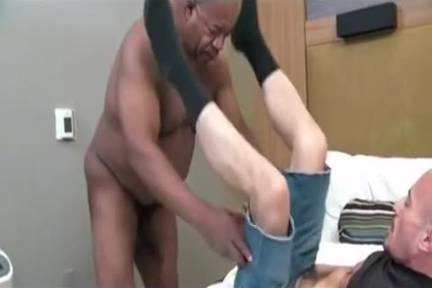 older man And Delivery chap