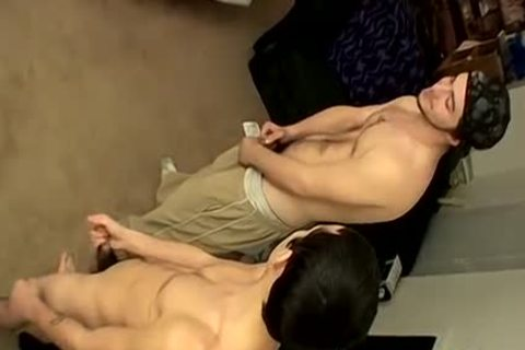 Three males Meet Up For A jerking off
