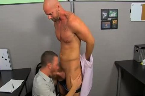 Mitch Vaughn Licks Parkers pooper previous to Sticking His cock In