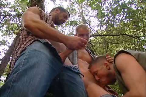 nailing And Fisting In The Forest: Dirk Jager, Lars Svensen & Rick Van Sant