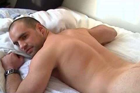 A innocent str8 guy receives Serviced His large rod By A guy!