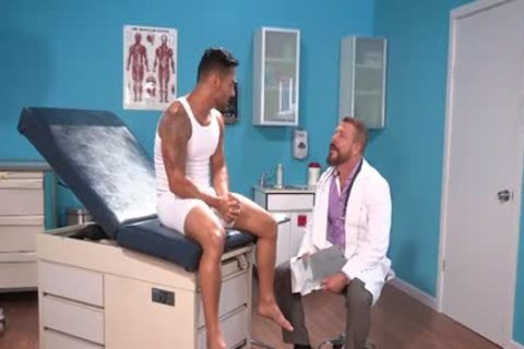Bruno Bernal And Rocco Steele In deep Examination
