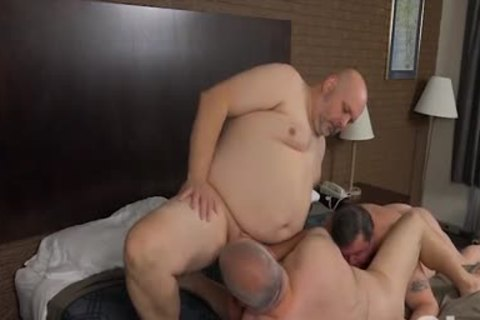 nailing His Blistering overweight Bumhole