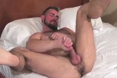 gigantic Bear Daddy Breeds charming anal dril charming hole In Some naughty Barebacking Session