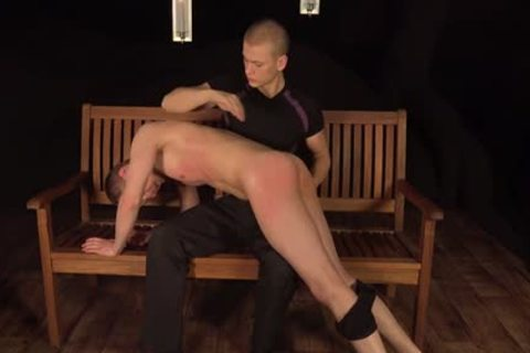sleazy gays spanking And sex cream flow