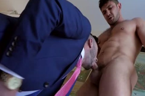 Muscle homosexual ace nail And cumshot