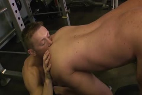 Muscle Son anal-copulation With cumshot