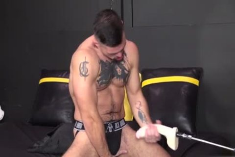 Muscle homo Fetish With spunk flow