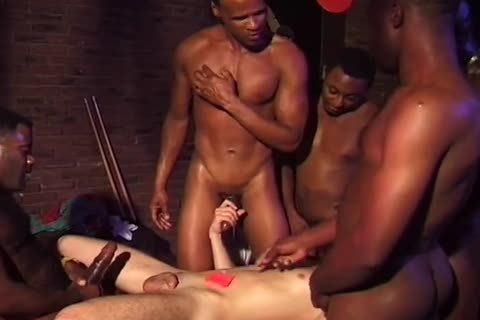extraordinary darksome Gangbangs - Scene 6