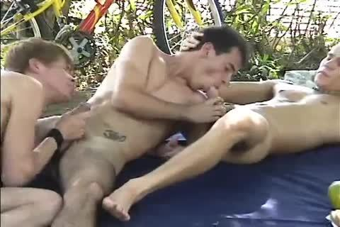 young guys outdoors - Scene 4