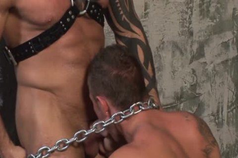 raw Leather Muscle fuck