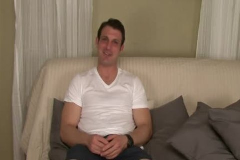 Straight Hunk Tricked Into Surprise oral pleasure-stimulation During audition