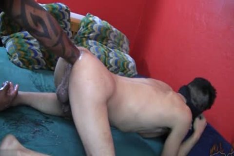 filthy homosexual Fetish With cumshot