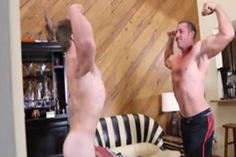 penis pounds HIS trainer