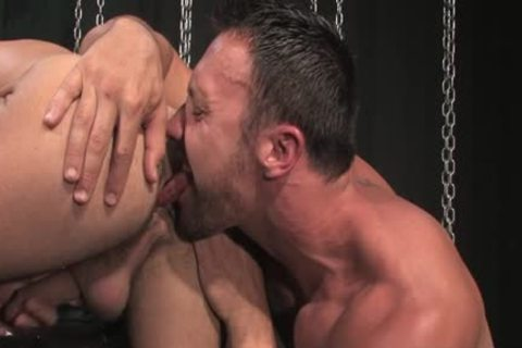 brunette dick irrumation job With Facial