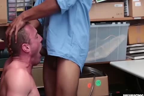 27 Year daddy Caucasian Male receives fucked For Stealing