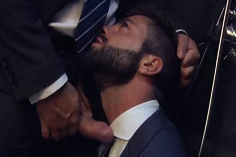Muscle homosexual butthole bang With Facial