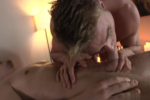 large 10-Pounder homosexual Foot Fetish With Massage