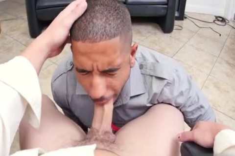 Muscle homosexual trio And Facial