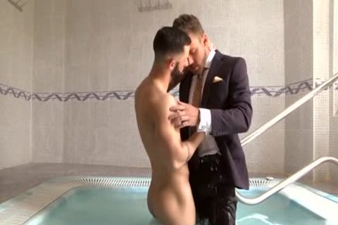 Muscle homosexual Fetish With Facial