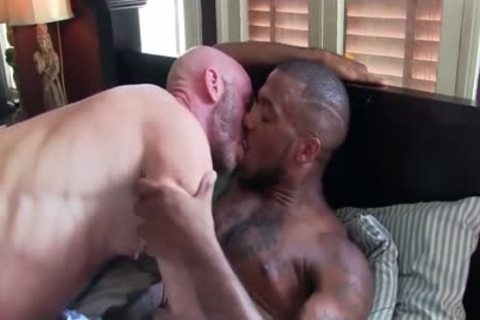 Interracial raw plowing