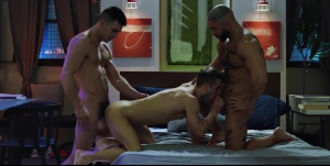 Sex God - Francois Sagat and Paddy O'Brian butthole job