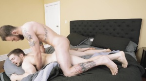 Polyamor-anal - Cliff Jensen with Griffin Barrows ass Love