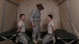 Drill The Sergeant - Damien Kyle and Tanner Tatum Hunk nail