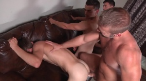 Stepfather's Secret - Dirk Caber, Johnny Rapid butt Hook up
