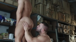 Heart's desire - Francois Sagat with Diego Reyes butthole Love