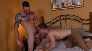 video Chat Meltdown - Johnny Rapid and Cliff Jensen anal Hump