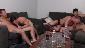 daddy group - Connor Maguire with Ashton McKay butthole job