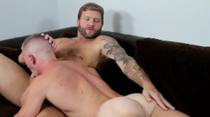 Straight dude's prostitute - Colby Jansen and Scott Riley butthole fuck