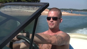 Boat Safety - Caleb Colton with Jack King anal pound