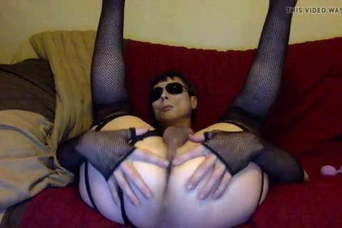 dirty Tasha Takes 2 Lilac Balls In The butthole love juice-hole Crossdresser