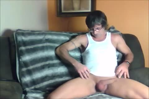 darksome Haired Sugar Daddy loves To jerk off Off