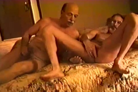 This daddy guy likes To jerk off At Home