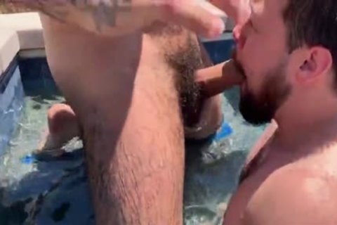Zaddy hammers Cubby naked