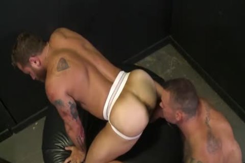avid For The humongous cock With Sean Duran & Riley Mitchel