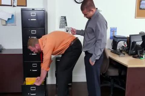 GRAB butthole - recent Employee receives Broken In By The Boss, Adam Bryant