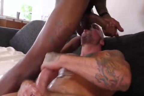 Sean Duran acquire plowed By Ray Diesel And deep Dicc